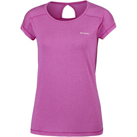 Columbia Peak to Point Shortsleeve Shirt Women pink